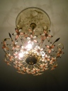 How beautiful is this light fixture??