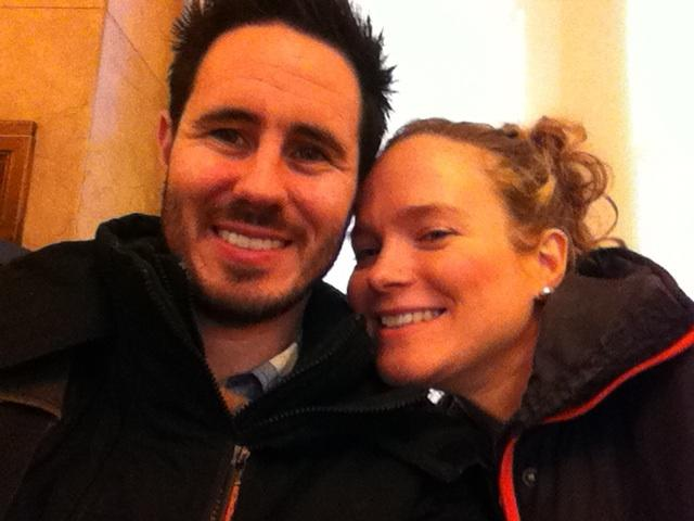 On December 7, Chris and I took a little trip to City Hall to get our marriage license. Our MARRIAGE LICENSE! Ca-razy!