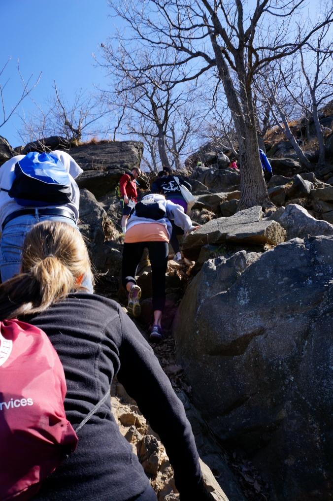 Holy rock climbing!