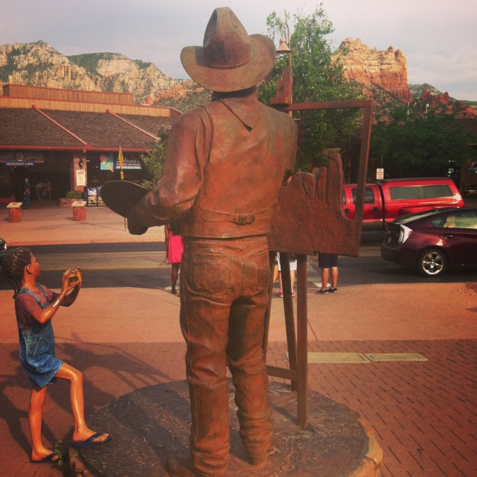 ^^Downtown Sedona.