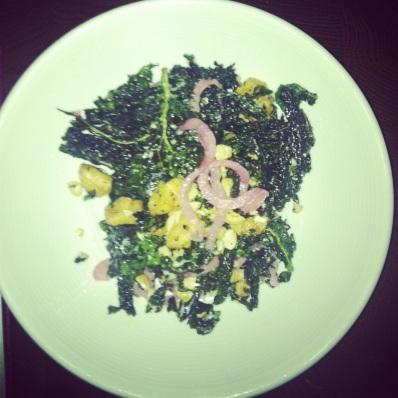 Kale appetizer