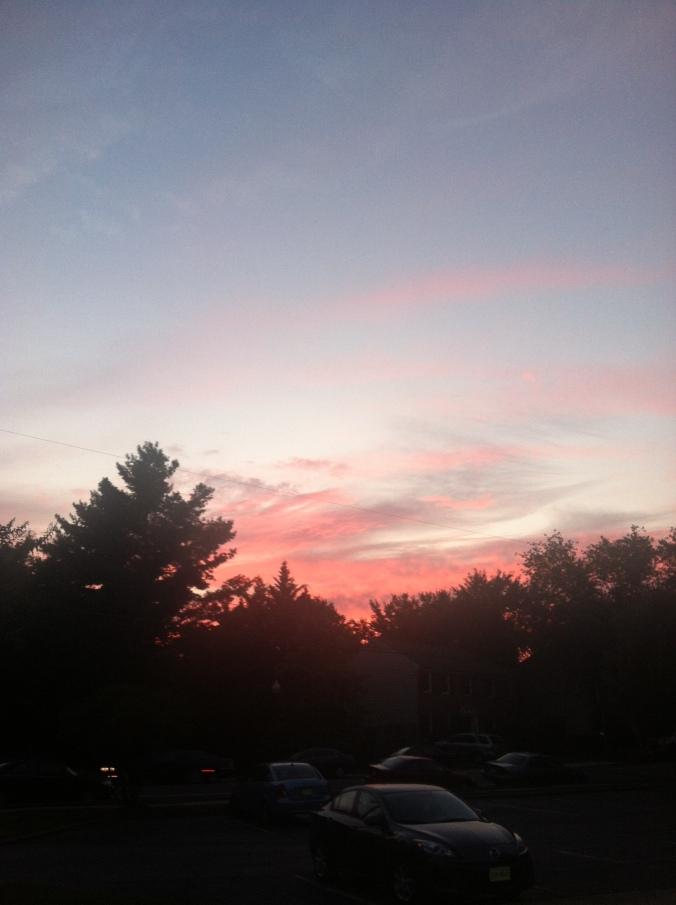 ^^ A beautiful Virginia sunset.