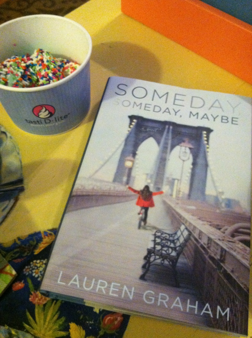 ^^ If you know me, you'll know I'm a HUGE Lauren Graham fan. So her new book, with some Tasti D-Lite ice cream, is pretty much my idea of a fantastic Sunday afternoon.