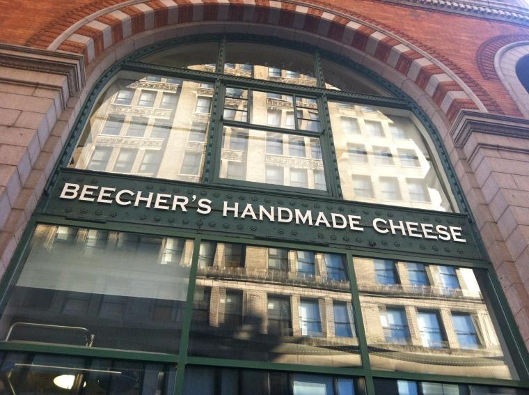 ^^ Beecher's Handmade Cheese on Broadway.