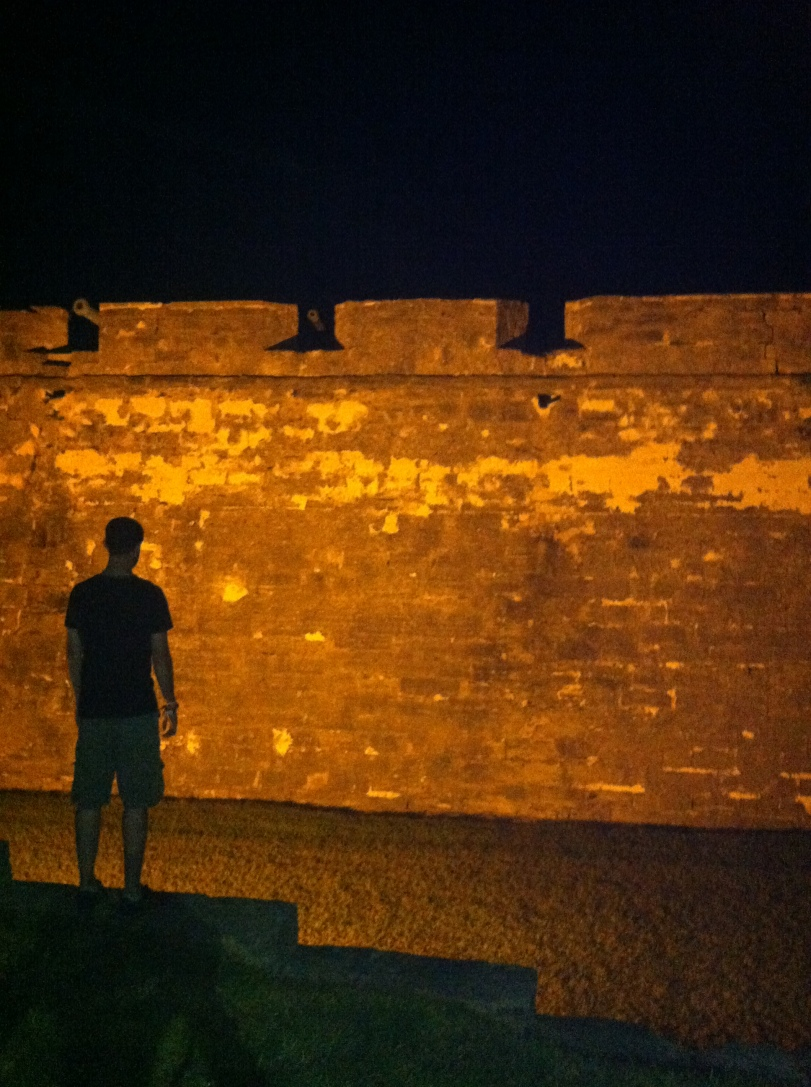 ^^Chris with the Castillo de San Marcos fort in the background.