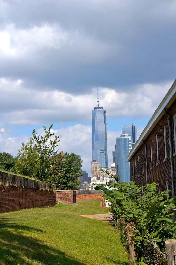 ^^ View of the Freedom Tower from Governors Island.