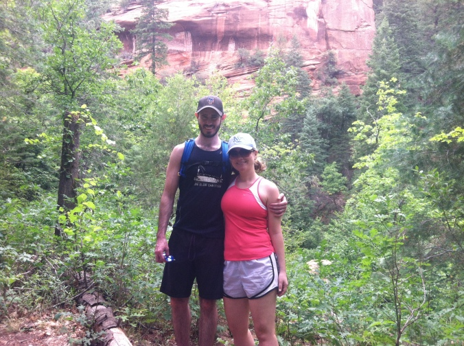 ^^ We went to Arizona and Charlotte over July 4th weekend ...