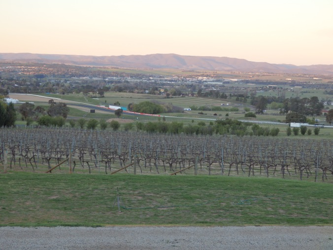^^ The sun was just setting over Bathurst as we arrived at the winery. Perfection. Plus two kangaroos came hopping along! Truly Aussie.