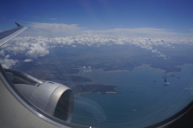 ^^ Flying over the Reef.