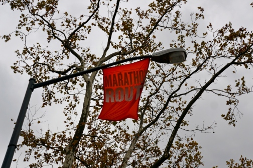 ^^ The marathon was last weekend, but Central Park is still celebrating.