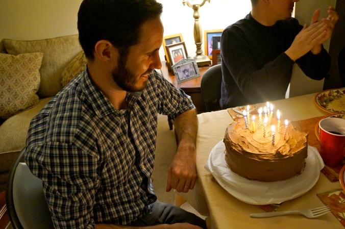 ^^ Birthday cakes for two birthday boys