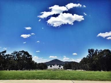 The Capitol Building, Canberra, Australia