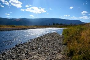 Lamar River, Yellowstone National Park