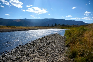 Lamar River, Yellowstone National Park