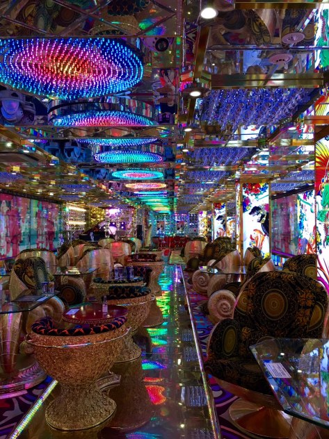 The splendid gaudiness of Robot Restaurant (more on this later)!