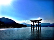 Itsukushima shrine on Miyajima Island