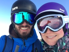 Snowboarding in Keystone