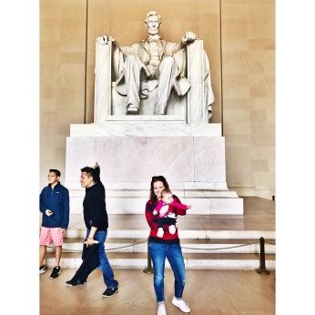 The Lincoln Memorial, Washington, D.C.
